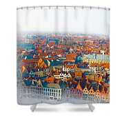 Greatest Small Cities In The World Shower Curtain