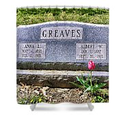 Greaves Shower Curtain