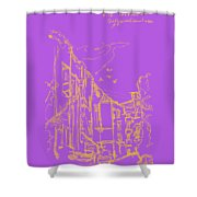 Grebeshkovsky Slope 7. 19 August, 2015 Shower Curtain