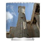 Grecian Ruins Shower Curtain
