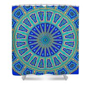 Grecian Tiles No. 2 Shower Curtain