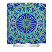 Grecian Tiles No. 2 Shower Curtain