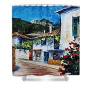 Greece  New Shower Curtain
