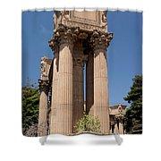 Greek Architecture Shower Curtain