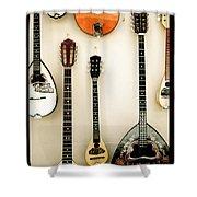 Greek Instruments Shower Curtain