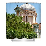 Greek Orthodox Church Shower Curtain