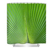 Green Abstract No. 2 Shower Curtain