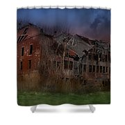 Green Acres Shower Curtain