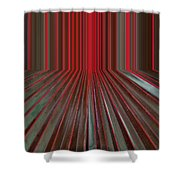 Red Room Shower Curtain