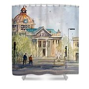 Green Bay Courthouse Shower Curtain