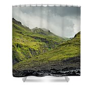 Green Canyon Shower Curtain