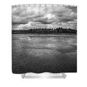 Green Cay 0861 Shower Curtain