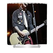 Green Day Billie Joe Armstrong Shower Curtain
