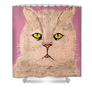 Green Eye Shower Curtain