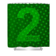 Green Goddess Santhia Shower Curtain