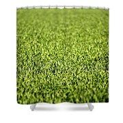 Green Grass Shower Curtain
