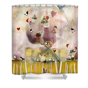 Green House  Shower Curtain
