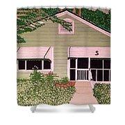 Green House Shower Curtain
