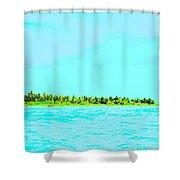 Green Island Shower Curtain