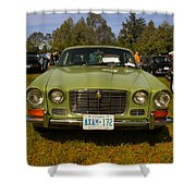 Green Jag Shower Curtain