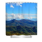Green Knob Hdr Eastern Panorama Shower Curtain