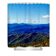 Green Knob Hdr Southern Panorama Shower Curtain