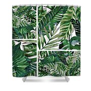 Green Life Shower Curtain