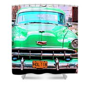Green Machine Shower Curtain