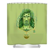 Ivy Green Man Shower Curtain