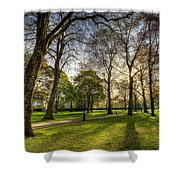 Green Park London Shower Curtain