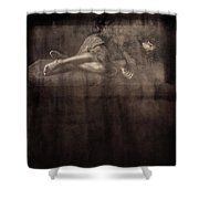Green Room #97890a Shower Curtain