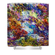 Green Space 15-18 Shower Curtain