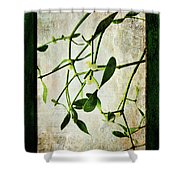 Green Tales  Shower Curtain
