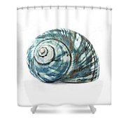 Green Turbo Shower Curtain