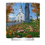 Greenfield Church Shower Curtain by Susan Cole Kelly