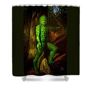 Greenman Shower Curtain