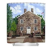 Greensburg Kentucky Courthouse Shower Curtain