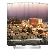 Greensburg Pano Shower Curtain