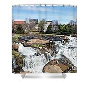 Greenville Panorama Shower Curtain