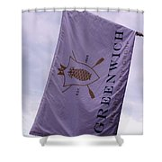 Greenwich Flag Shower Curtain