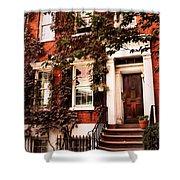 Greenwich Village Charm Shower Curtain