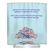 Greeting Card 06 Shower Curtain
