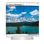 Greeting Cards - Set Me Free In Mt Shower Curtain