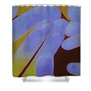 Greeting The Sun Shower Curtain