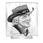 Greg Norman Shower Curtain
