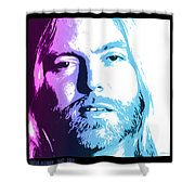 Gregg Allman 1947 2017 Shower Curtain