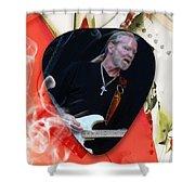 Gregg Allman Art Shower Curtain