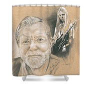 Gregg Allman Shower Curtain