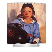 Gregorita With The Santa Clara Bowl 1917 Shower Curtain