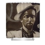Gregory Isaacs Shower Curtain